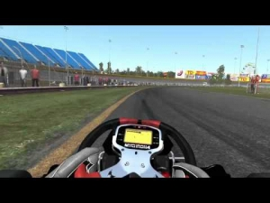 Rfactor 2 Junior Kart Race @ Mountain Peak Karting Long