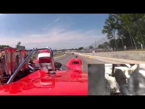 Road America Can-Am McLaren onboard Jim Pace at the Hawk