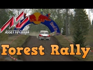 Assetto Corsa Forest Rally in the Alfa 155