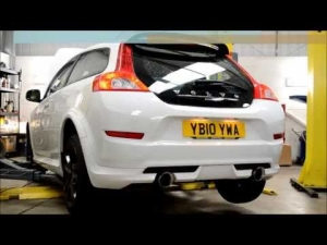Volvo C30 T5 Milltek exhaust from Shark Performance