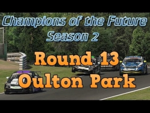 iRacing Champions of the Future Round 13 - Oulton Park Sprint race