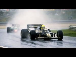 Ayrton Senna's first F1 win - 1985 Portuguese Grand Prix