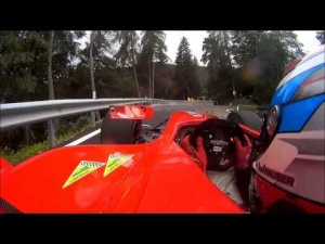 Onboard with David Hauser (Dallara GP2) - Trento Bondone 2013