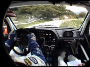 Gilles Panizzi insane driving 306 Maxi in car hq by U.P.TEAM