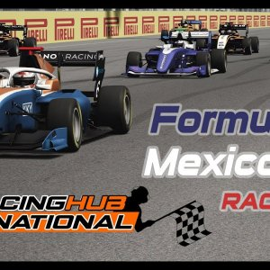 Formula 3 - Mexico GP - Assetto Corsa - SimRacingHub International