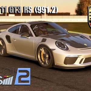 Project Cars 2 * 2018 Porsche 991.2 GT3RS [mod download]