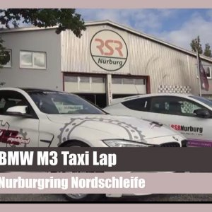 BMW M3 Taxi Lap Around The Nurburgring Nordschleife (2017(