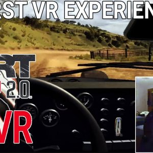 DIRT Rally 2.0 My first VR Experience | New Zealand Stage