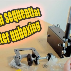 Dim Sim Sequential Shifter Unboxing