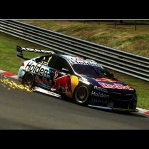 How fast is V8 Supercar around Nurburgring-Nordschliefe