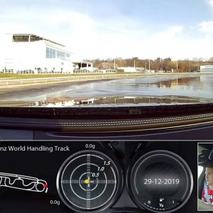 Mercedes E63 AMG Driving Experience - (Skid Pan & Handling Facility) - Mercedes-Benz World