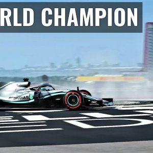6 TIME WORLD CHAMPION | Lewis Hamilton | F12019
