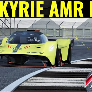 Aston Martin Valkyrie AMR PRO | First Flying Lap at Silverstone | Assetto Corsa | 4K