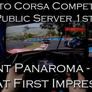 Assetto Corsa Competizione | Testing Public Servers @ Mount Panorama | POV Project Immersion 1440p