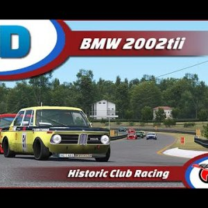 BMW 2002 tii @ CTMP rfactor 2 Onboard races RaceDepartment (from 12 to 5 and out)