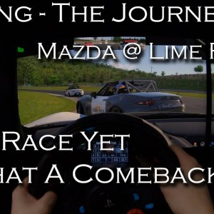 iRacing - The Journey #7 | Global Mazda - Best Race Yet, Epic Comeback | POV Project Immersion 1440p