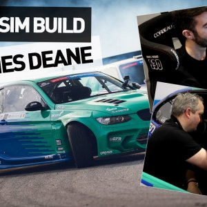 Custom Sim Rig Built For James Deane by Digital-Motorsports.com @ Autosport 2020