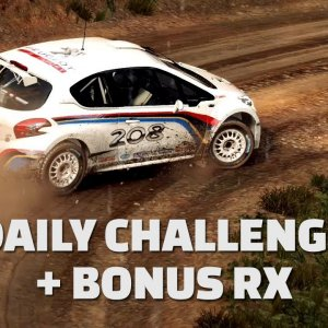DiRT Rally 2.0 - Daily Challenge + Bonus RX