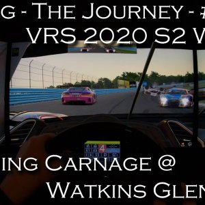 iRacing - The Journey | 20S202 VRS @ Watkins Glen Ferrari GT3 | POV Project Immersion Triple 1440p