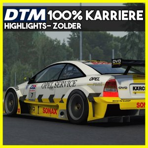 Zolder Highlights | DTM 2002 100% Karriere | Assetto Corsa Mod