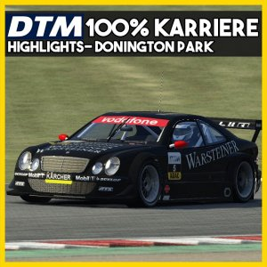 Donington Park Highlights | DTM 2002 100% Karriere | Assetto Corsa Mod