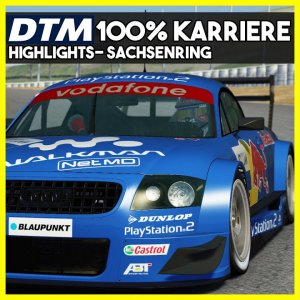 Heartbroken | Sachsenring Highlights | DTM 2002 100% Karriere | Assetto Corsa Mod