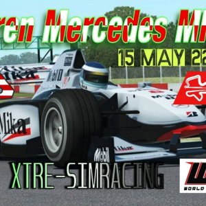 McLaren Mercedes MP4/13 @ Sepang LIVE STREAM!! WCD Xtre simracing