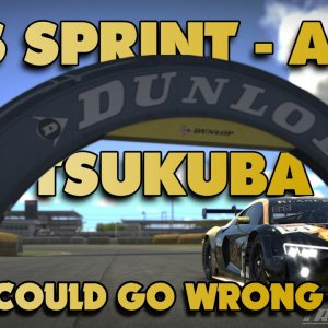 iRacing - | 20S211 VRS Sprint @ Tsukuba - Audi R8 | POV Project Immersion Triple 1440p