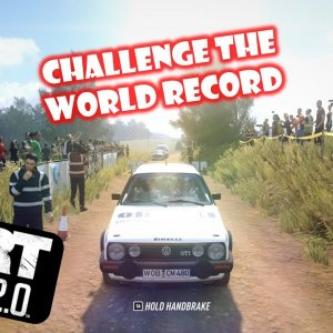 DiRT Rally 2.0 / POV / KETENG 900 / Challenge the World Record / Poland / VW Golf GTI 16V