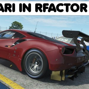 rFactor 2 VR : Ferrari 488 GTE Raced and Reviewed at Sebring
