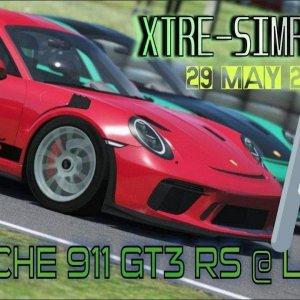 RSS Porsche 911 Gt3 RS @ Leipzig LIVE STREAM!! Xtre simracing