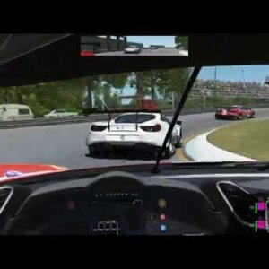 rFactor 2: Pushing the Ferrari 488 GTE at Imola 1972 against AI 105%