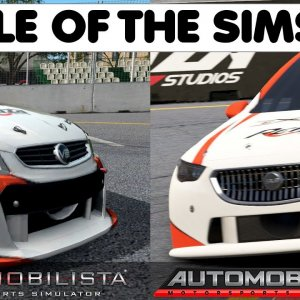 AUTOMOBILISTA VS AUTOMOBILISTA 2 : Which title has the best Super V8 - We find out !