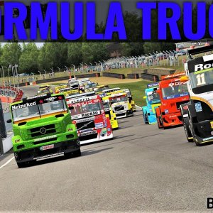 Forumla Truck Race at Brands Hatch | Assetto Corsa | 4K