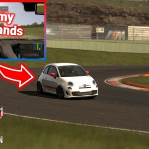 Assetto Corsa / POV / KETENG 900 / Why do I only play hard games? / Vallelunga / Abarth 500 esseesse