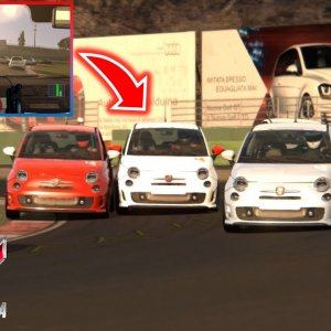 Assetto Corsa / They are close friends / Vallelunga / Abarth 500 esseesse