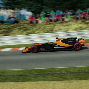 Alonso at Spa