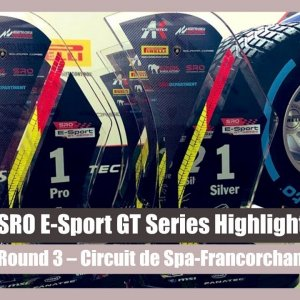 SRO E-Sport GT Series | Round 3 Highlights - Spa