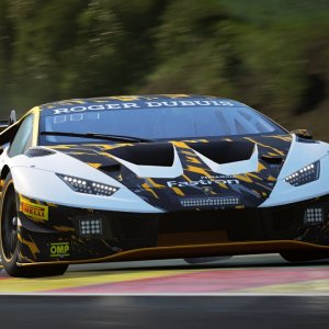 Lamborghini The Real Race - Spa hotstint qualifier - 12:25.728