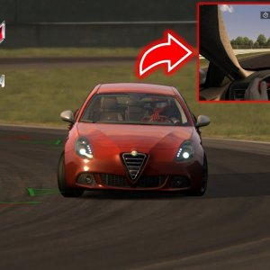 Assetto Corsa / Record line / Giulietta QV / Magione Circuit / KETENG 900 GAMEPLAY