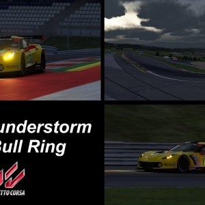 Light Thunderstorm - Red Bull Ring - Assetto Corsa