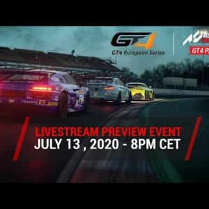 I Take On Jimmy Broadbent, Chris Haye and Jardier in GT4's in Assetto Corsa Competizione