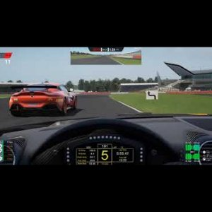 Chasing Snarf ACC GT4s Silverstone
