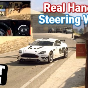ASTON MARTIN V8 VANTAGE GT4 SPAIN DiRT Rally 2.0 / KETENG900(Racing wheel) Gameplay