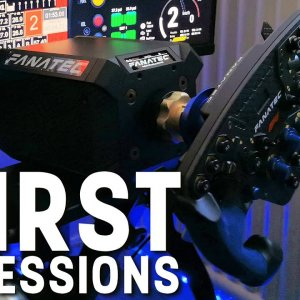 Moving to a Direct Drive wheel - Fanatec DD1 Podium First impressions