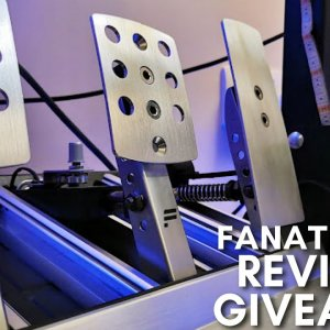 Fanatec CSR Elite pedals review and Giveway
