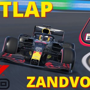 F1 2020 | Red Bull HOTLAP at the NEW Zandvoort Circuit! | 4K