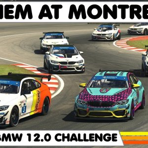 IRACING : Hectic BMW Challenge Race At Montreal