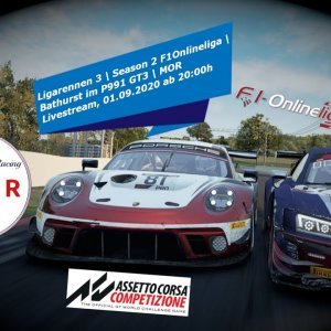 MOR - ACC Ligarennen #3 in Bathurst im Porsche P991 | Gameplay PC | Let's Play Deutsch