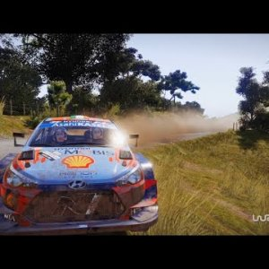 WRC 9 FIA World Rally Championship - Batley(Rally New Zealand) TV replay cam Craig Breen Paul Nagle